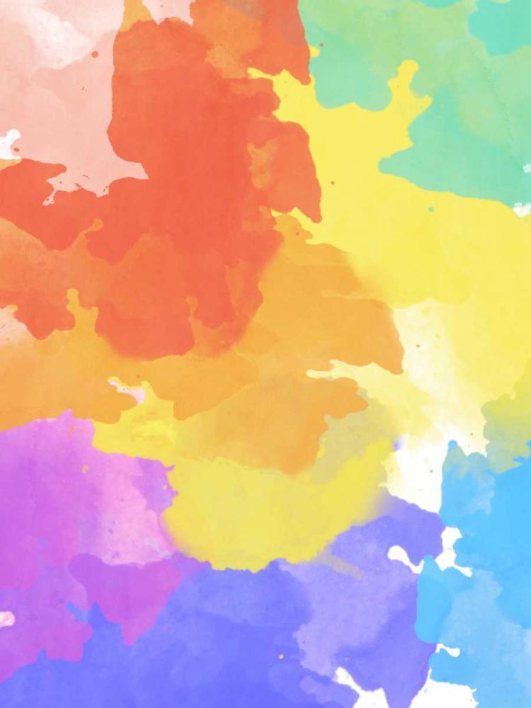 konfigurieren des Kunstdrucks in Wunschgröße Watercolor Mess II von SD Graphics Studio