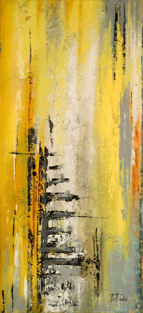 konfigurieren des Kunstdrucks in Wunschgröße The Yellow and Silver Ones I von Pinto, Patricia