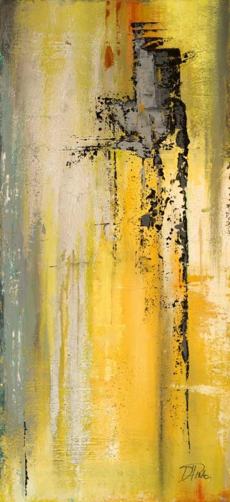 konfigurieren des Kunstdrucks in Wunschgröße The Yellow and Silver Ones II von Pinto, Patricia