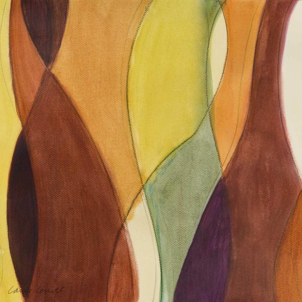 konfigurieren des Kunstdrucks in Wunschgröße Coalescing Autumn III von Loreth, Lanie