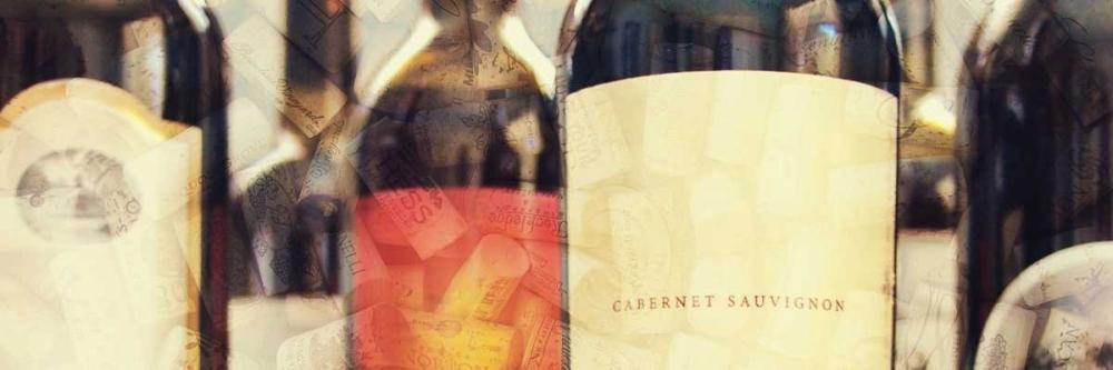 konfigurieren des Kunstdrucks in Wunschgröße Wine Label Panel I von Peck, Gail