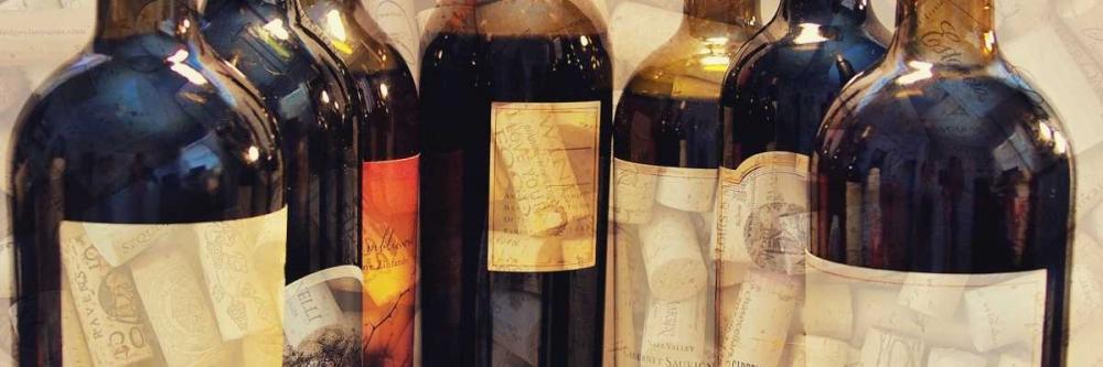 konfigurieren des Kunstdrucks in Wunschgröße Wine Label Panel II von Peck, Gail