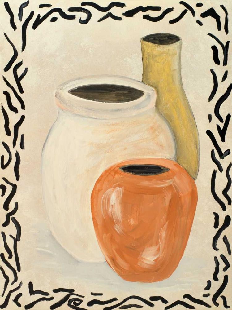 konfigurieren des Kunstdrucks in Wunschgröße Tribal Vase I von Acosta
