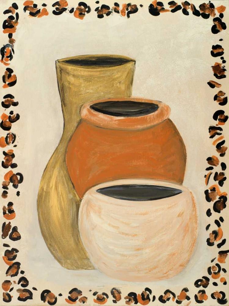 konfigurieren des Kunstdrucks in Wunschgröße Tribal Vase II von Acosta