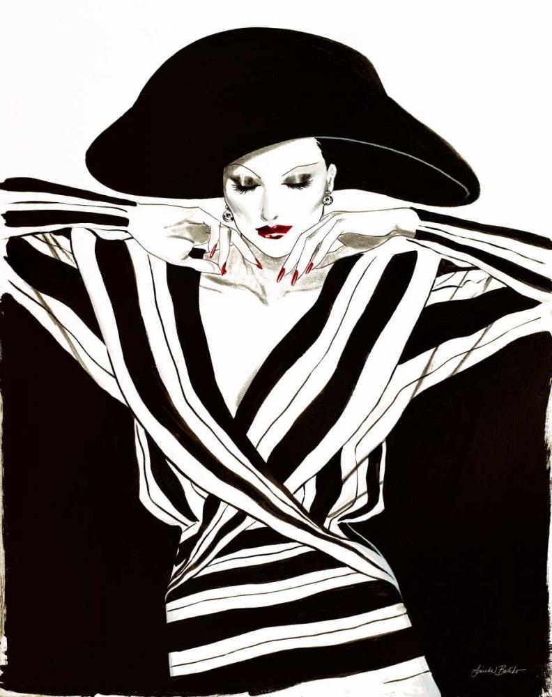 konfigurieren des Kunstdrucks in Wunschgröße Fashion Women III von Baliko, Linda