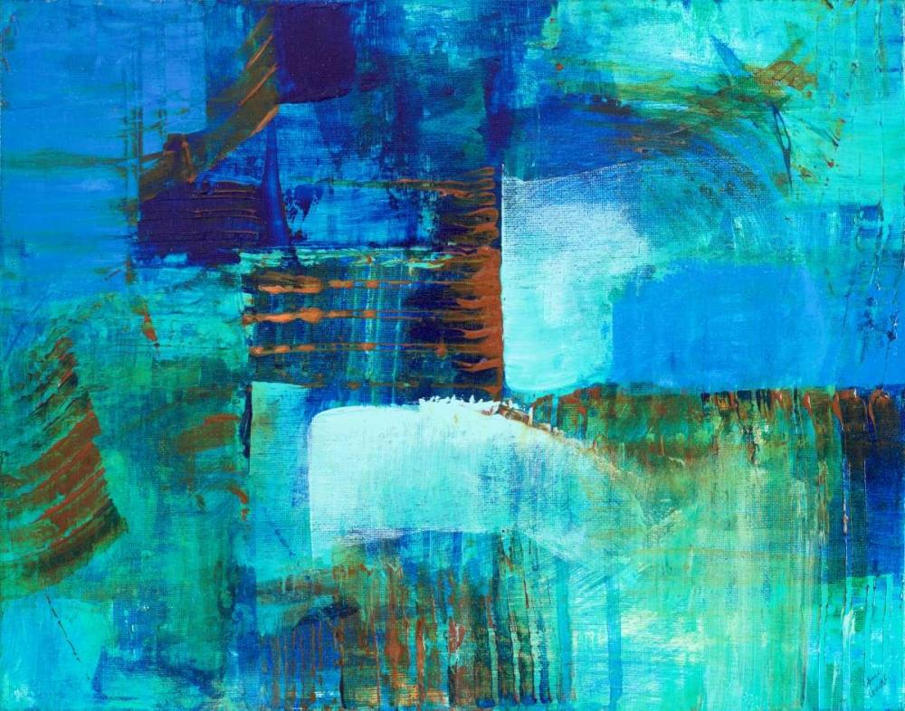 konfigurieren des Kunstdrucks in Wunschgröße Mystic Bleu von Loreth, Lanie