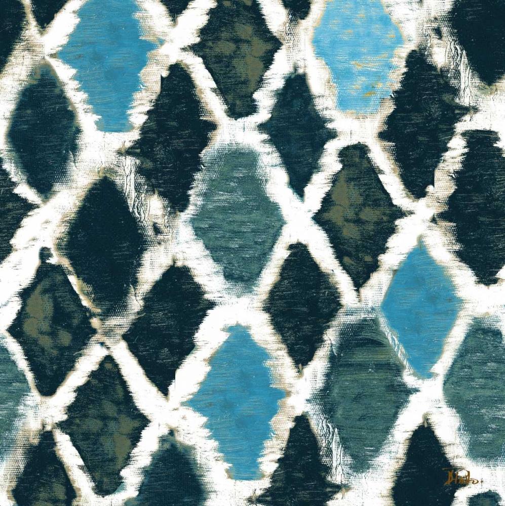 konfigurieren des Kunstdrucks in Wunschgröße Blue Colored Thatch von Pinto, Patricia