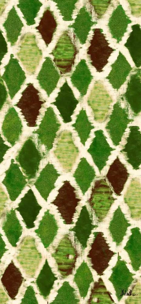 konfigurieren des Kunstdrucks in Wunschgröße Green Colored Thatch von Pinto, Patricia