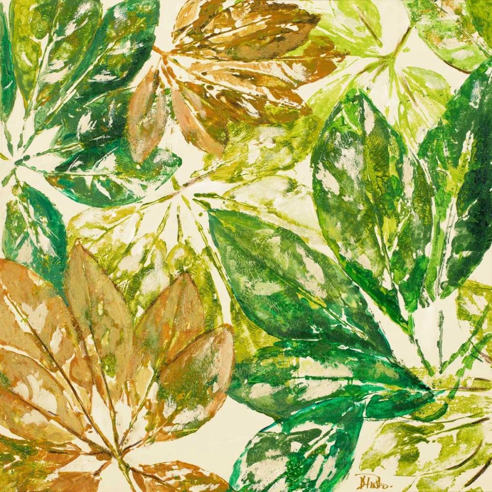 konfigurieren des Kunstdrucks in Wunschgröße Green Overlay I von Pinto, Patricia