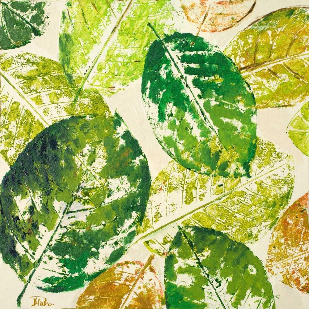 konfigurieren des Kunstdrucks in Wunschgröße Green Overlay II von Pinto, Patricia