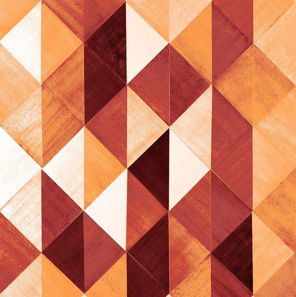 konfigurieren des Kunstdrucks in Wunschgröße Uptown Rust I von Loreth, Lanie