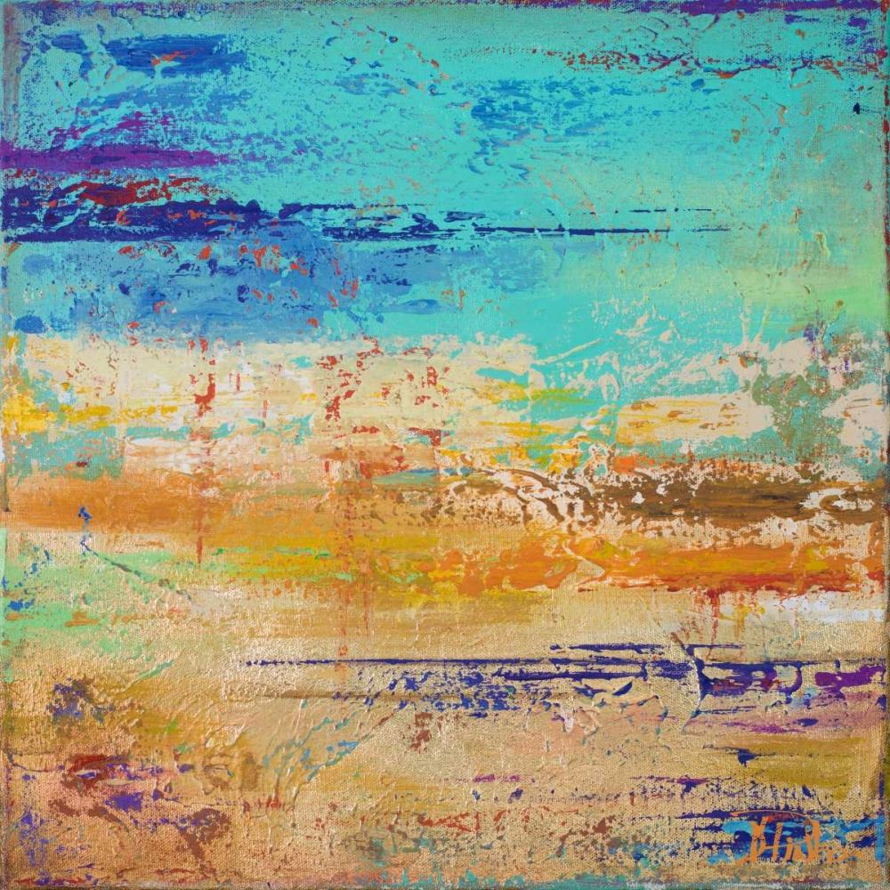 konfigurieren des Kunstdrucks in Wunschgröße Abstract Multicolored von Pinto, Patricia