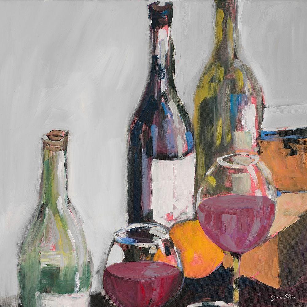 konfigurieren des Kunstdrucks in Wunschgröße Red Wine Tasting von Slivka, Jane
