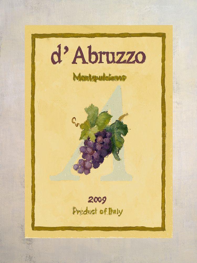 konfigurieren des Kunstdrucks in Wunschgröße Wine Label III von Loreth, Lanie