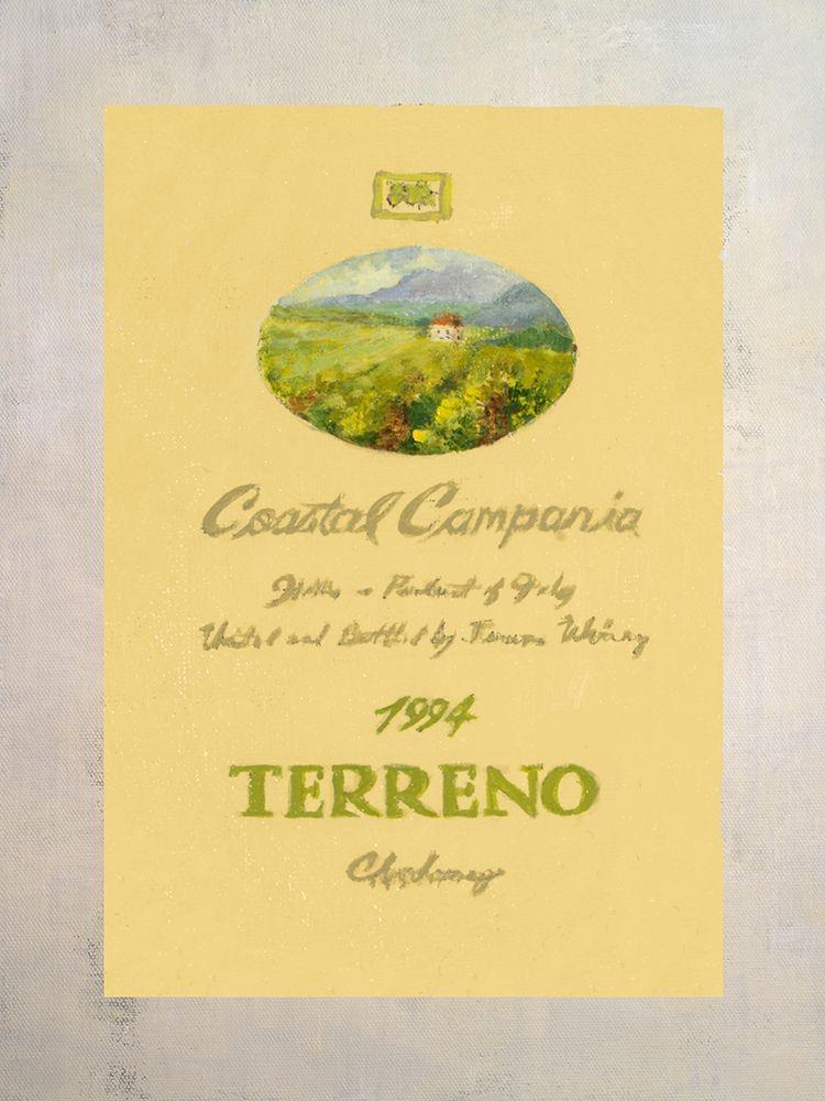 konfigurieren des Kunstdrucks in Wunschgröße Wine Label I von Loreth, Lanie