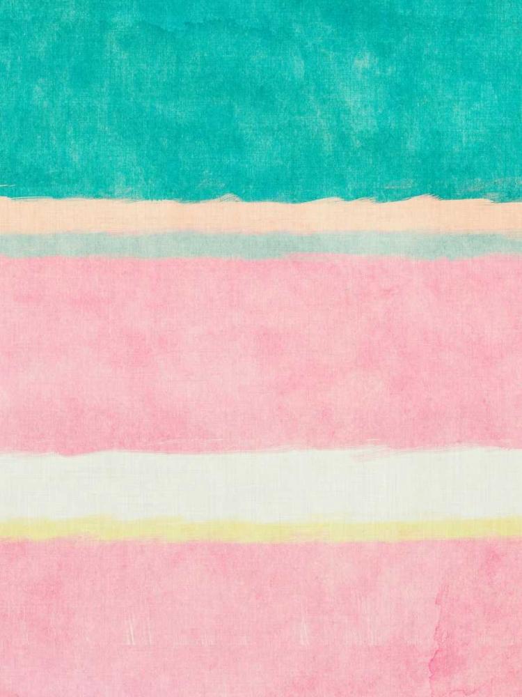 konfigurieren des Kunstdrucks in Wunschgröße Rectangle Beach Blocks of Color II von SD Graphics Studio