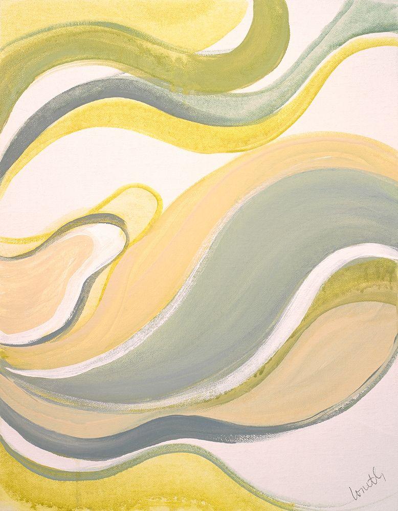 konfigurieren des Kunstdrucks in Wunschgröße Curve Linear I von Loreth, Lanie