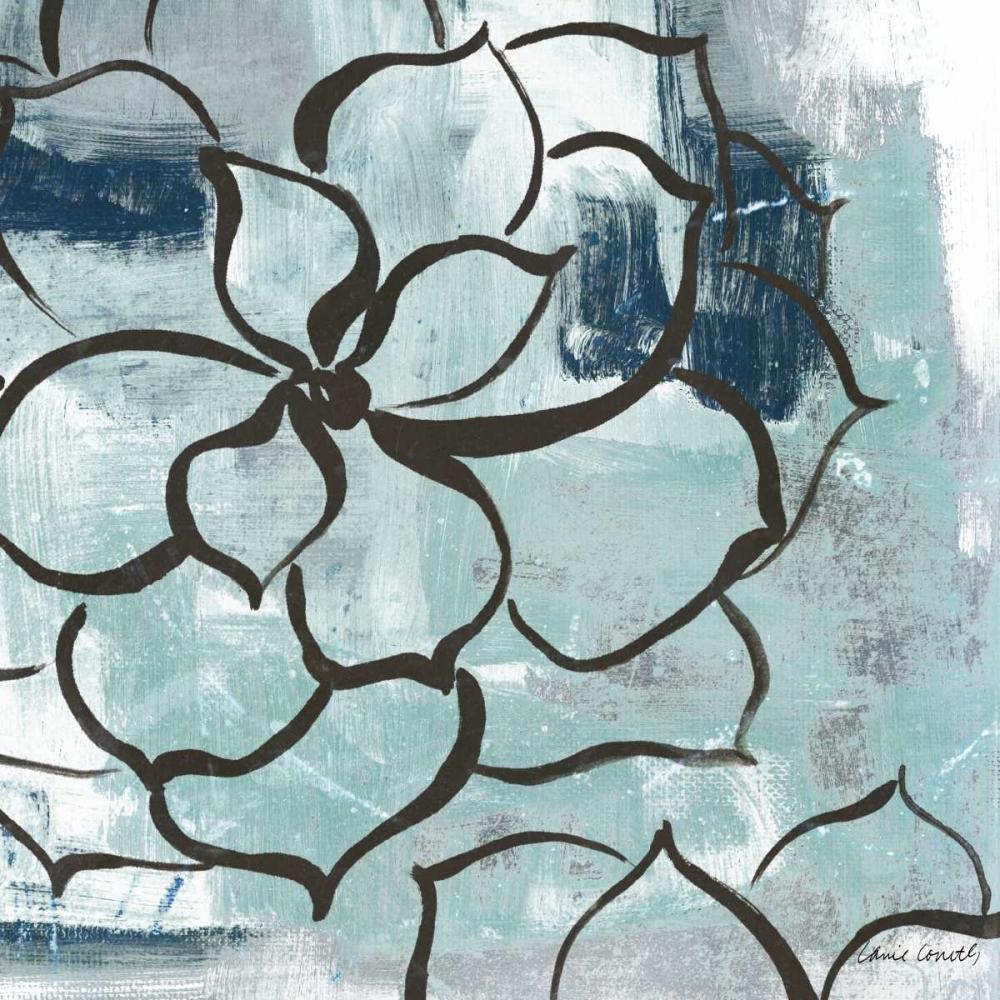 konfigurieren des Kunstdrucks in Wunschgröße Cool Vision Floral I von Loreth, Lanie