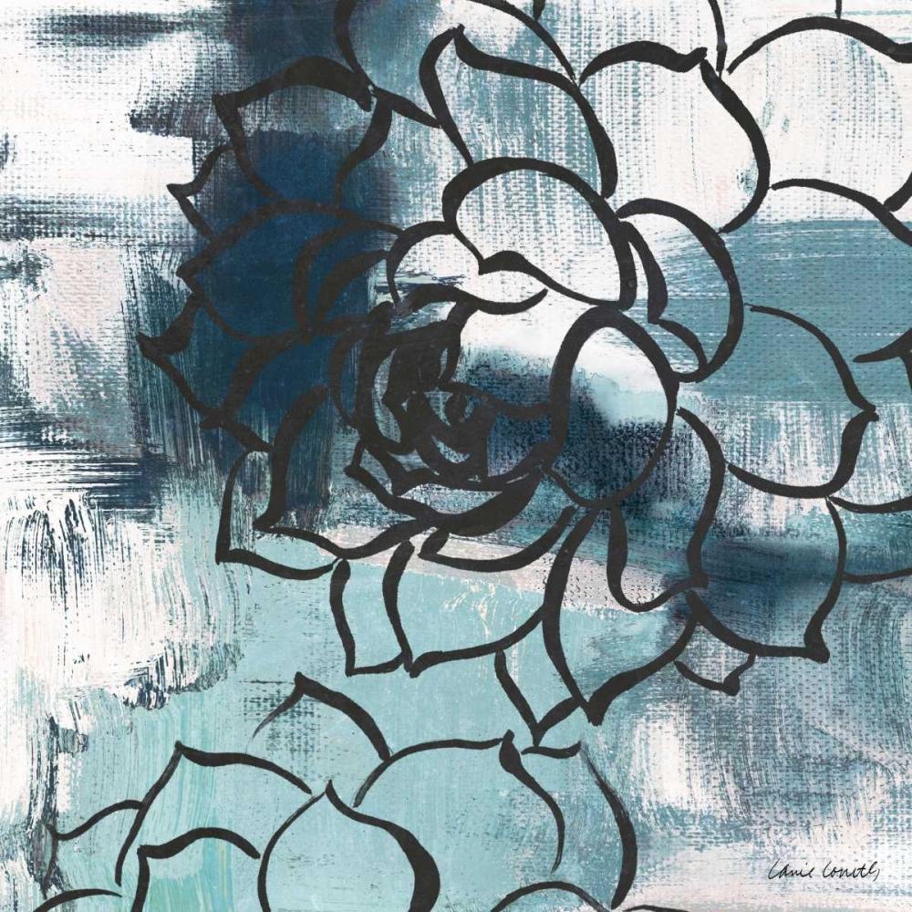 konfigurieren des Kunstdrucks in Wunschgröße Cool Vision Floral II von Loreth, Lanie
