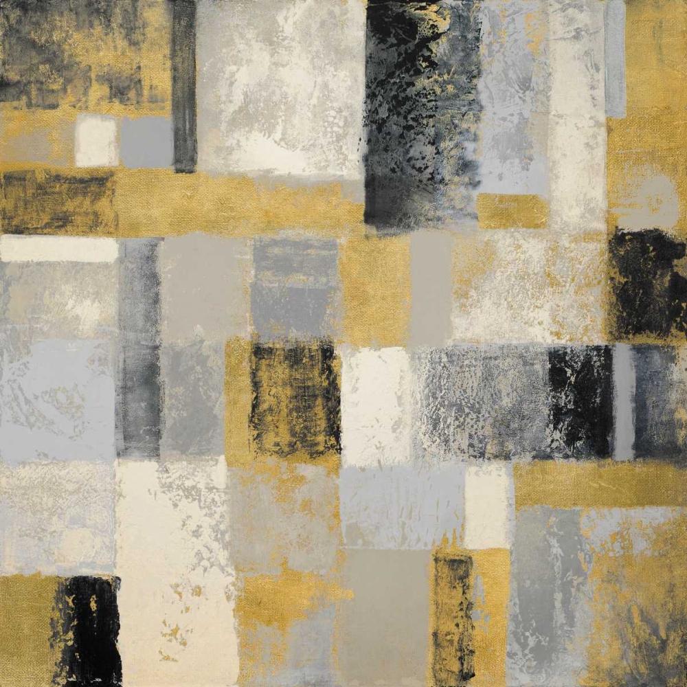 konfigurieren des Kunstdrucks in Wunschgröße Mid Winter Geometry I von Marcon, Michael