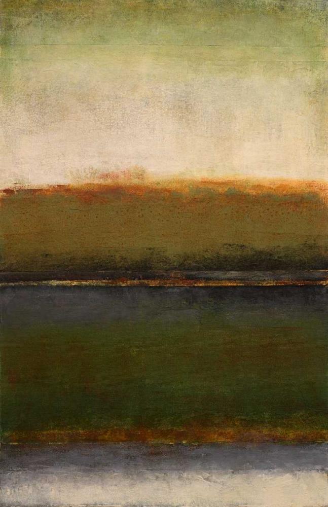 konfigurieren des Kunstdrucks in Wunschgröße Mossy Landscape von Loreth, Lanie