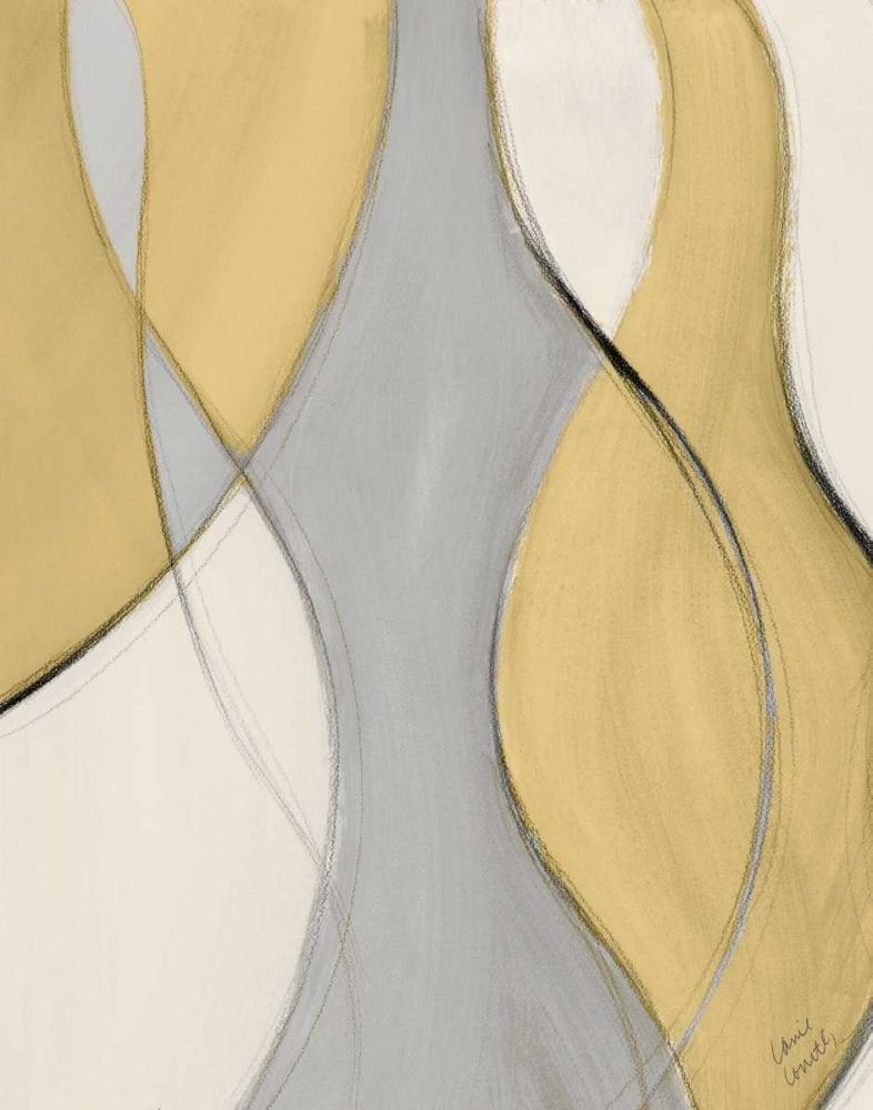 konfigurieren des Kunstdrucks in Wunschgröße Tranquil Coalescence II von Loreth, Lanie