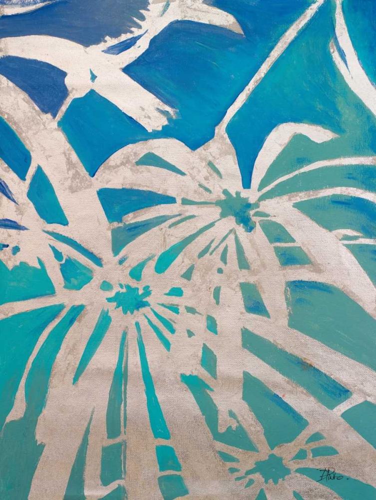 konfigurieren des Kunstdrucks in Wunschgröße Silver Palms I von Pinto, Patricia