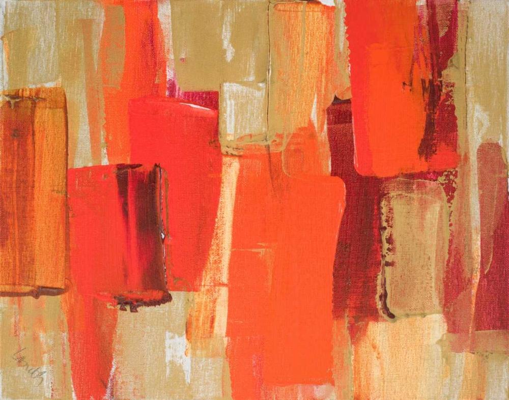 konfigurieren des Kunstdrucks in Wunschgröße Red Sonata II von Loreth, Lanie