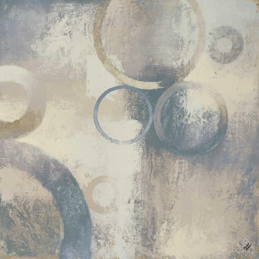 konfigurieren des Kunstdrucks in Wunschgröße Muted Cobalt I von Marcon, Michael