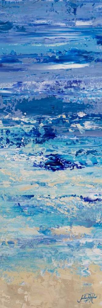 konfigurieren des Kunstdrucks in Wunschgröße Oceans in Abstract Panel I von DeRice, Julie
