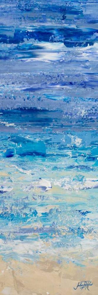 konfigurieren des Kunstdrucks in Wunschgröße Oceans in Abstract Panel II von DeRice, Julie
