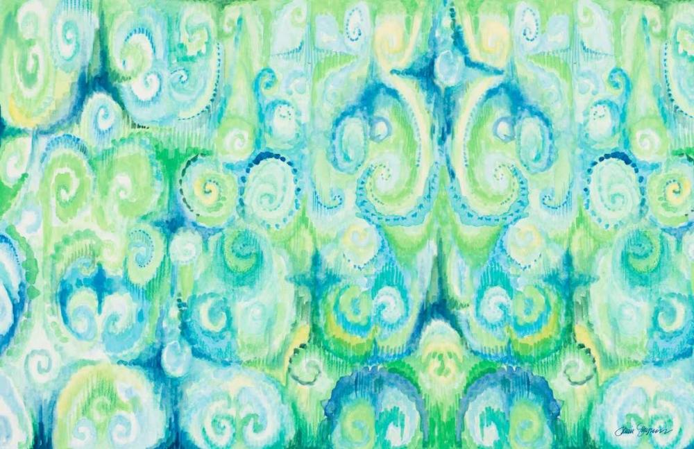 konfigurieren des Kunstdrucks in Wunschgröße Emerald Abstract von Gaynor, Janice