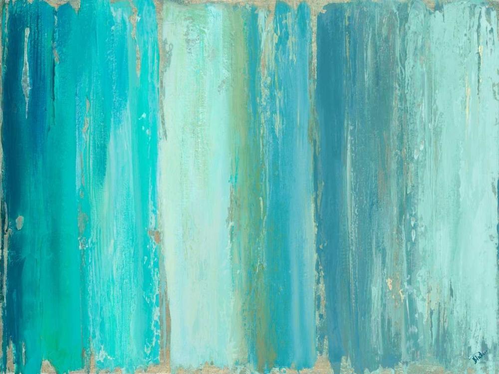 konfigurieren des Kunstdrucks in Wunschgröße The Blue Palette von Pinto, Patricia
