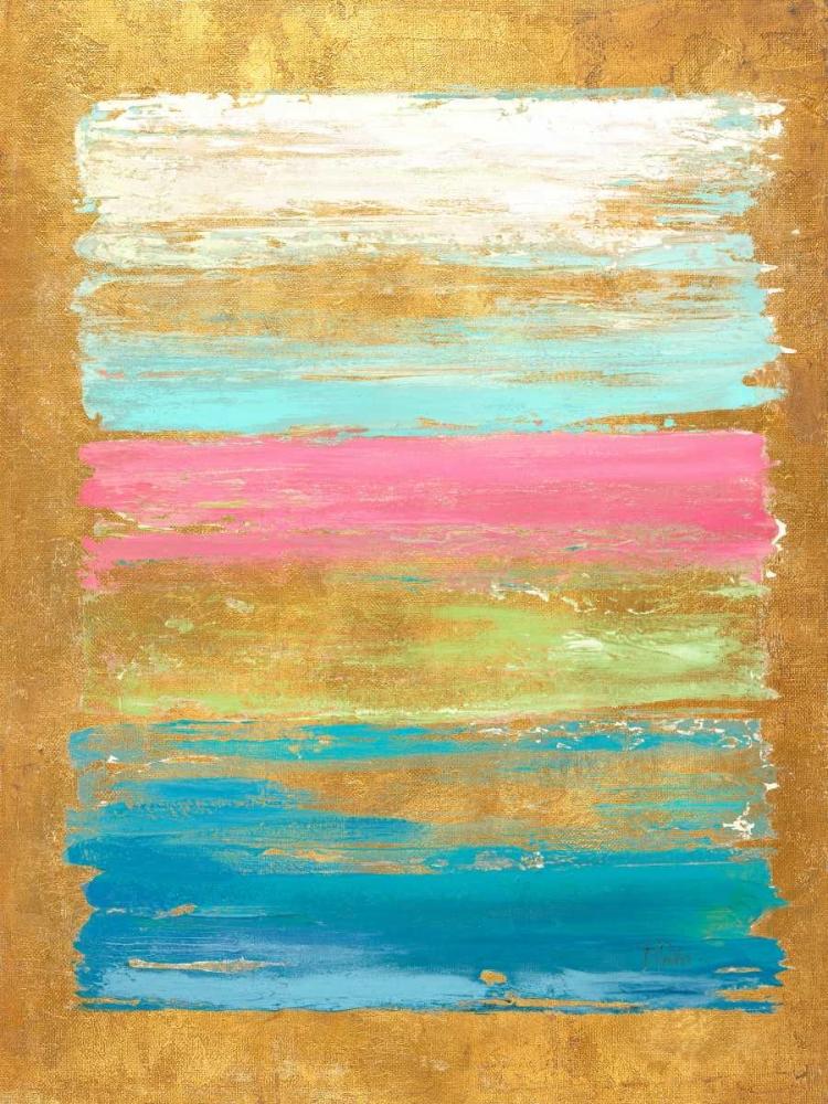 konfigurieren des Kunstdrucks in Wunschgröße The Palette with Pink von Pinto, Patricia