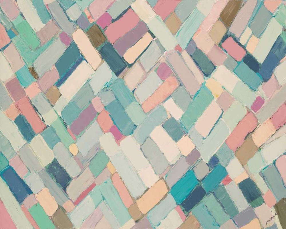 konfigurieren des Kunstdrucks in Wunschgröße Infinity Pastels von Coolick, Ann Marie