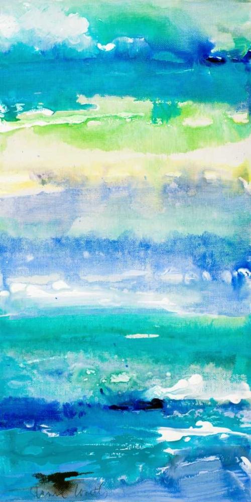 konfigurieren des Kunstdrucks in Wunschgröße Sea Azure II von Loreth, Lanie