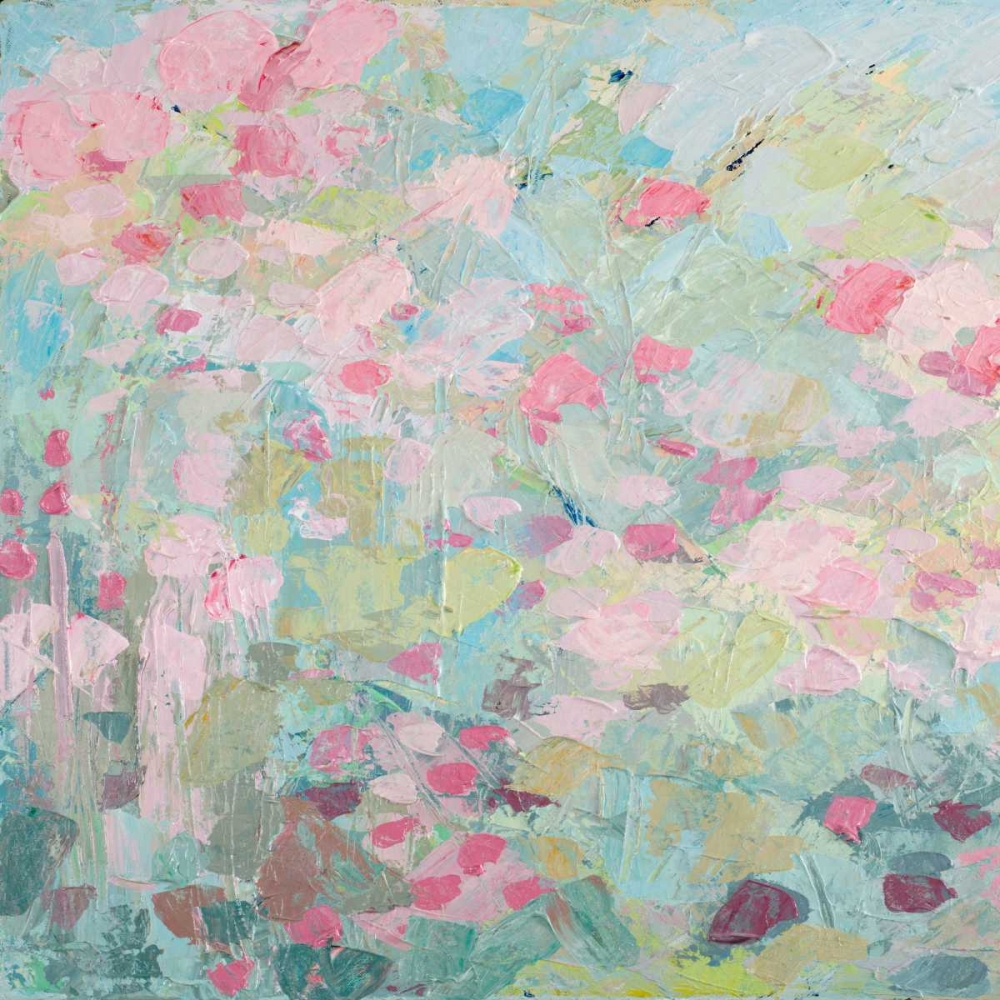 konfigurieren des Kunstdrucks in Wunschgröße Dancing Sakura Tree I von Coolick, Ann Marie