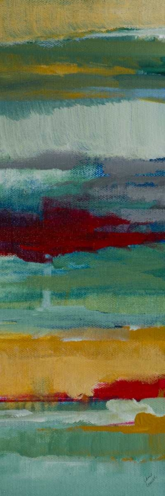 konfigurieren des Kunstdrucks in Wunschgröße Splendid Sky Panel I von Loreth, Lanie