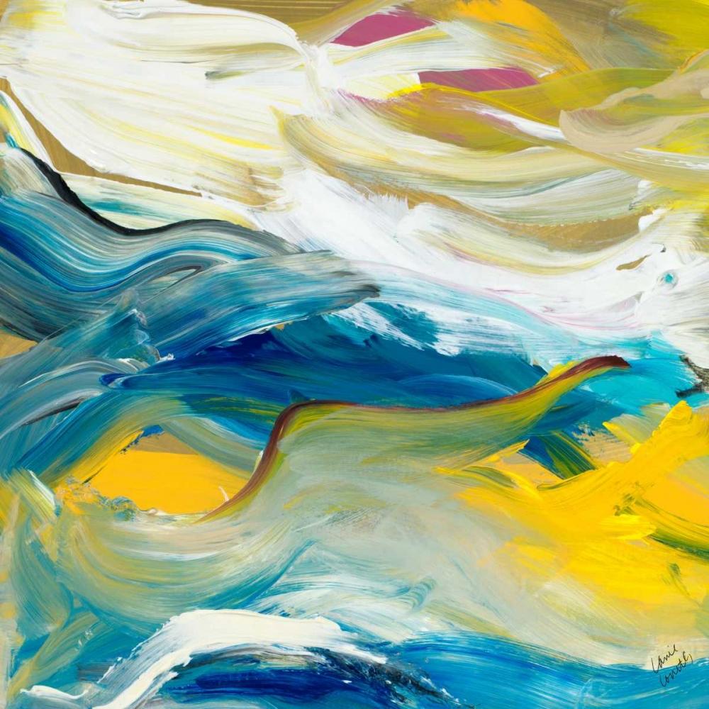 konfigurieren des Kunstdrucks in Wunschgröße Color of Cadence Square I von Loreth, Lanie