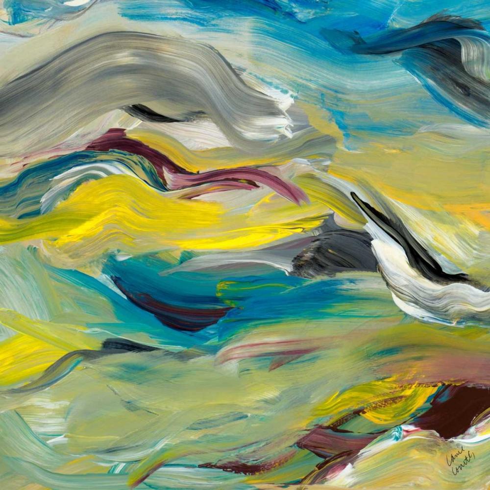 konfigurieren des Kunstdrucks in Wunschgröße Color of Cadence Square II von Loreth, Lanie