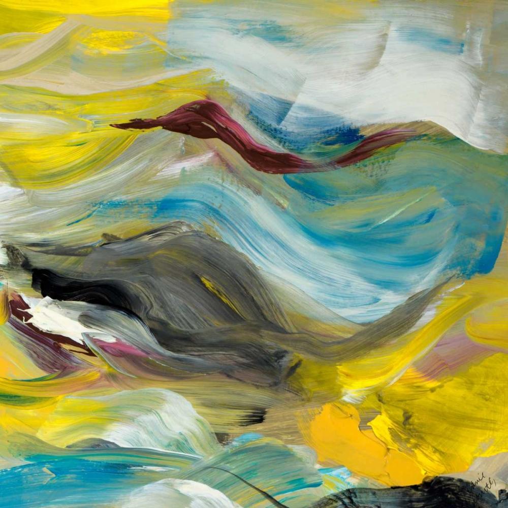 konfigurieren des Kunstdrucks in Wunschgröße Color of Cadence Square III von Loreth, Lanie