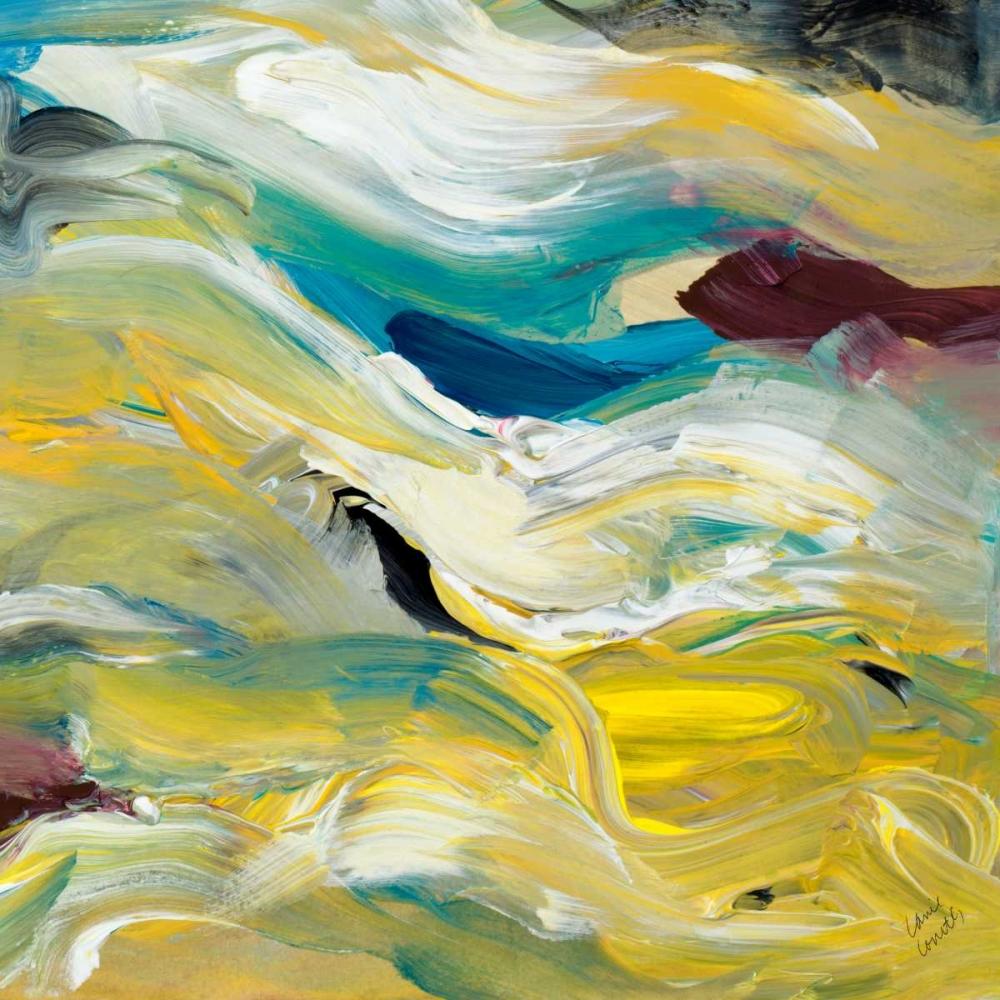 konfigurieren des Kunstdrucks in Wunschgröße Color of Cadence Square IV von Loreth, Lanie