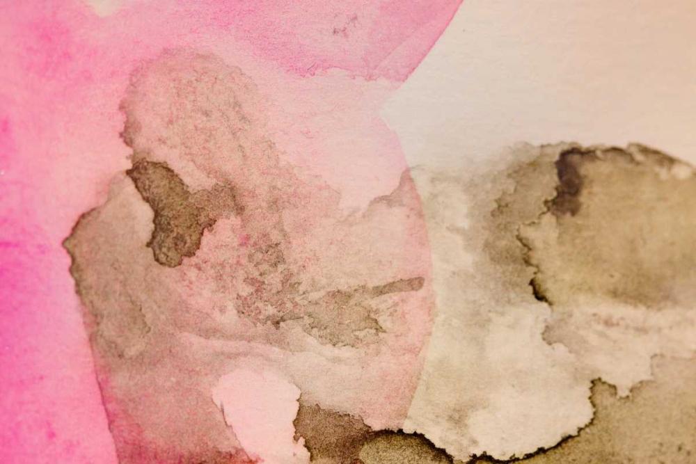 konfigurieren des Kunstdrucks in Wunschgröße Pink Watercolor von Bryant, Susan
