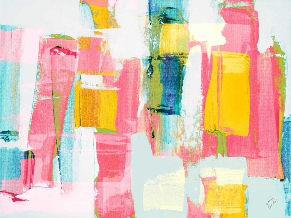 konfigurieren des Kunstdrucks in Wunschgröße Vibrant Drift von Loreth, Lanie