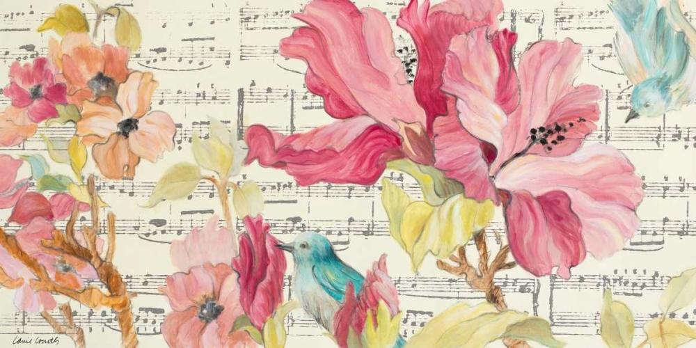 konfigurieren des Kunstdrucks in Wunschgröße Tropical Grace Lyrics von Loreth, Lanie