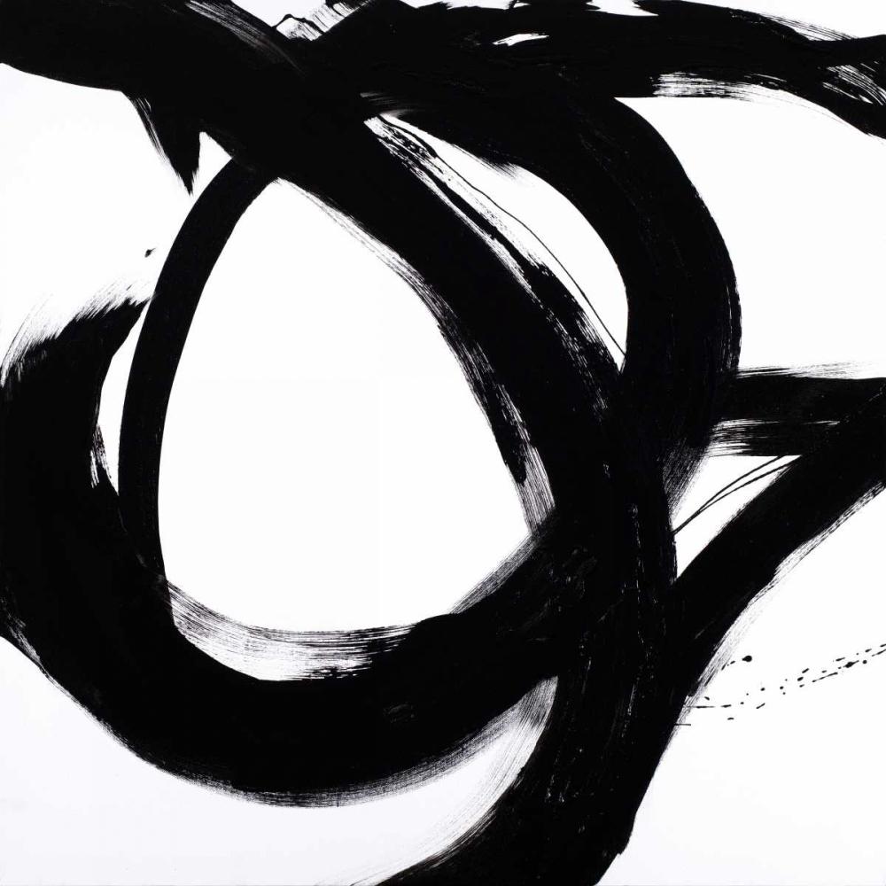 konfigurieren des Kunstdrucks in Wunschgröße Circular Strokes I von Morris, Megan