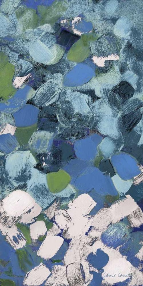 konfigurieren des Kunstdrucks in Wunschgröße Bits Of Life Blue von Loreth, Lanie