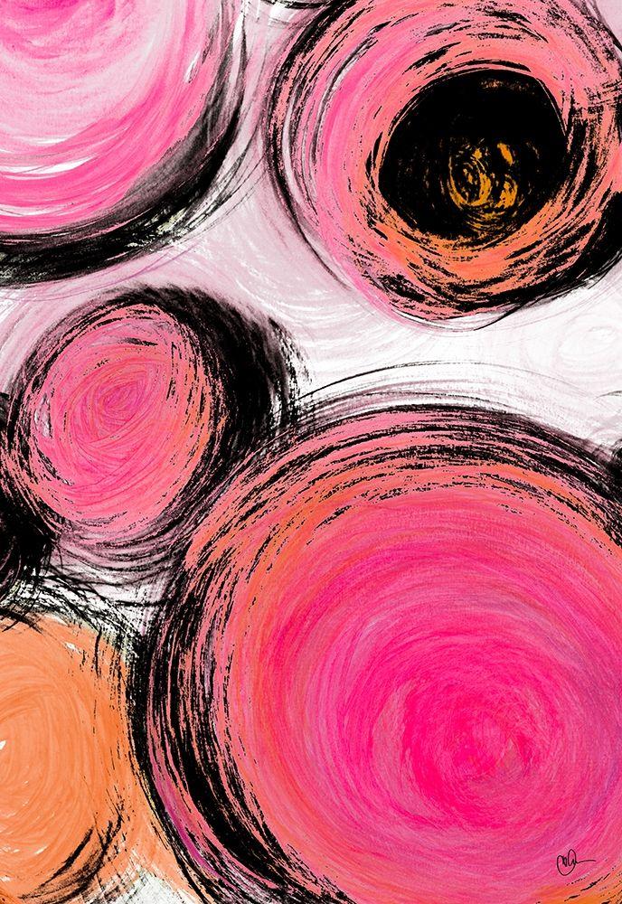 konfigurieren des Kunstdrucks in Wunschgröße Contempo Bubbles von Papa, Kat