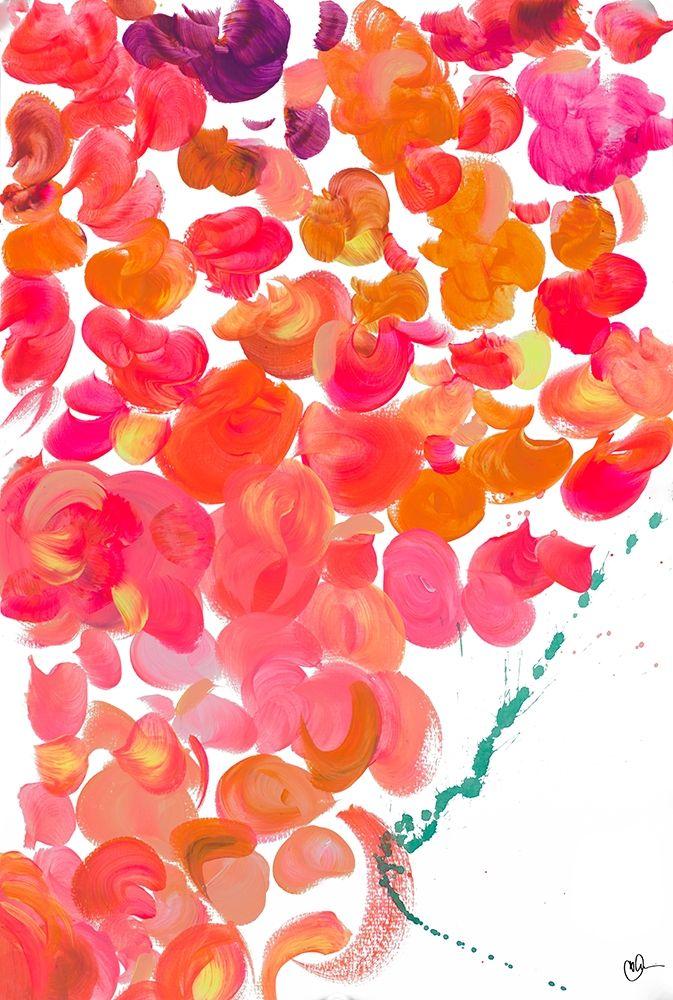 konfigurieren des Kunstdrucks in Wunschgröße Dot Garden II von Papa, Kat