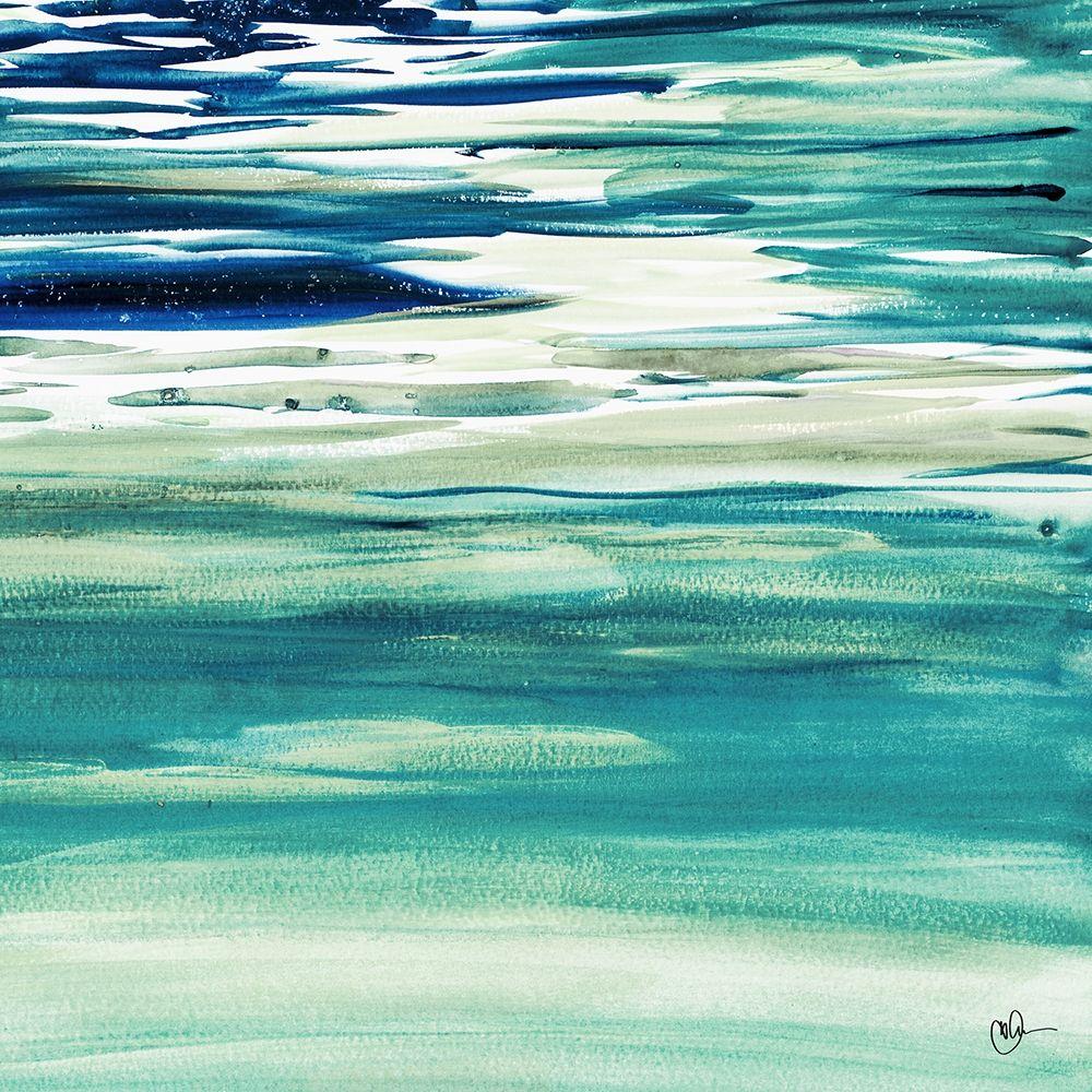 konfigurieren des Kunstdrucks in Wunschgröße Blue Color Study II von Papa, Kat